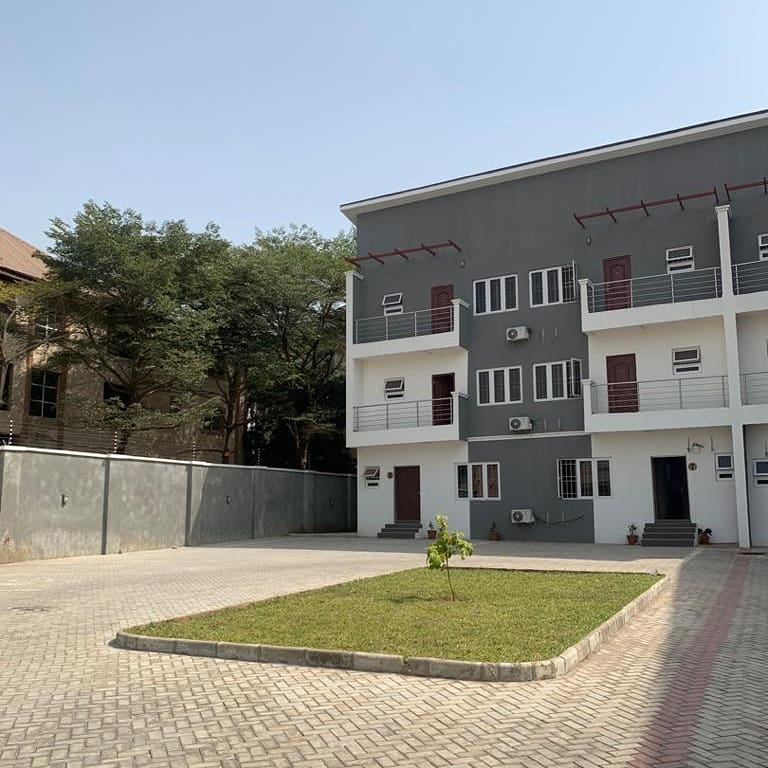 Beautiful 4bedroom terrace duplex in a secluded environment.