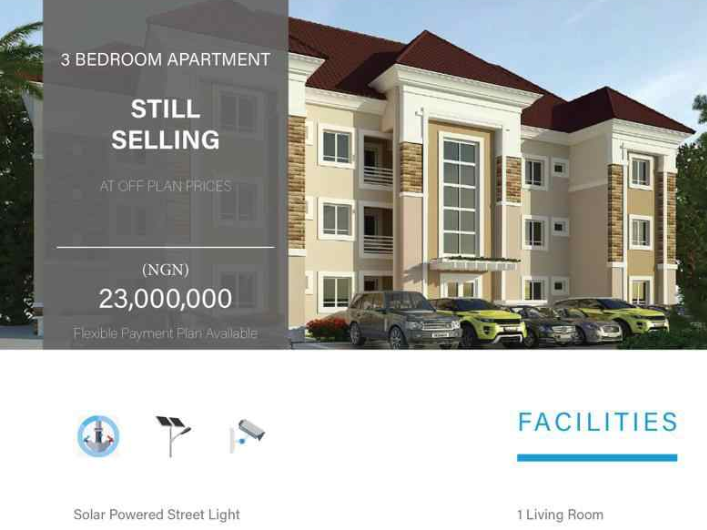 Beautiful and off-plan Estate, 1min drive from Guduwa estate gate